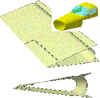 Aerospace surface design